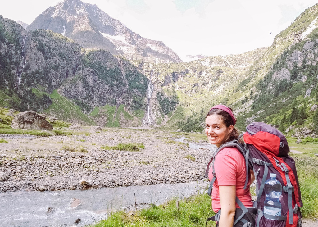 Ich beim Wandern in den Stubaier Alpen