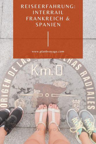 Titelbild Interrail Frankreich Spanien